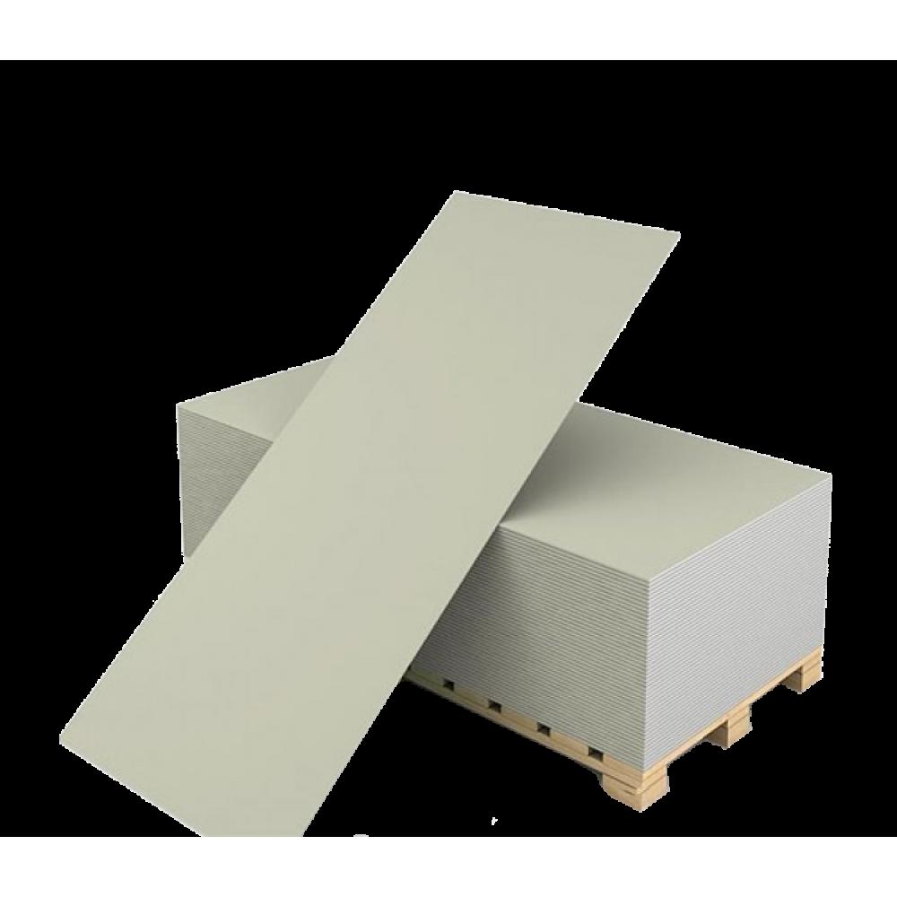Кнауф (ГКЛ) гипсокартонный лист обычный 2500х1200х9,5 мм (3 м²)