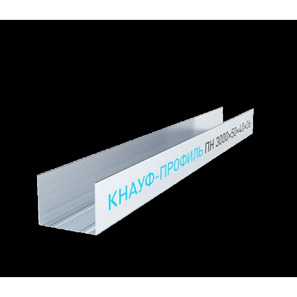 Knauf Профиль направляющий 50х40 мм 3 м 0.60 мм