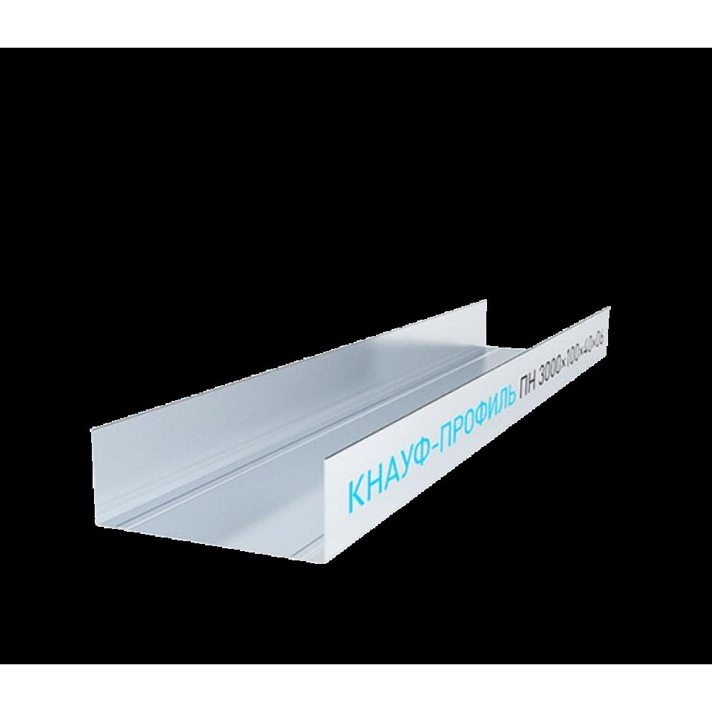 Профиль направляющий Knauf 100х40 мм 3 м 0.60 мм
