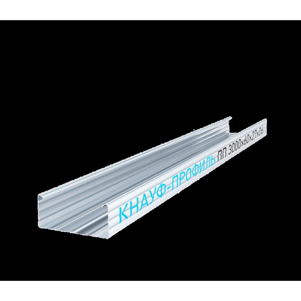 Knauf Профиль потолочный 60х27 мм 3 м 0.60 мм