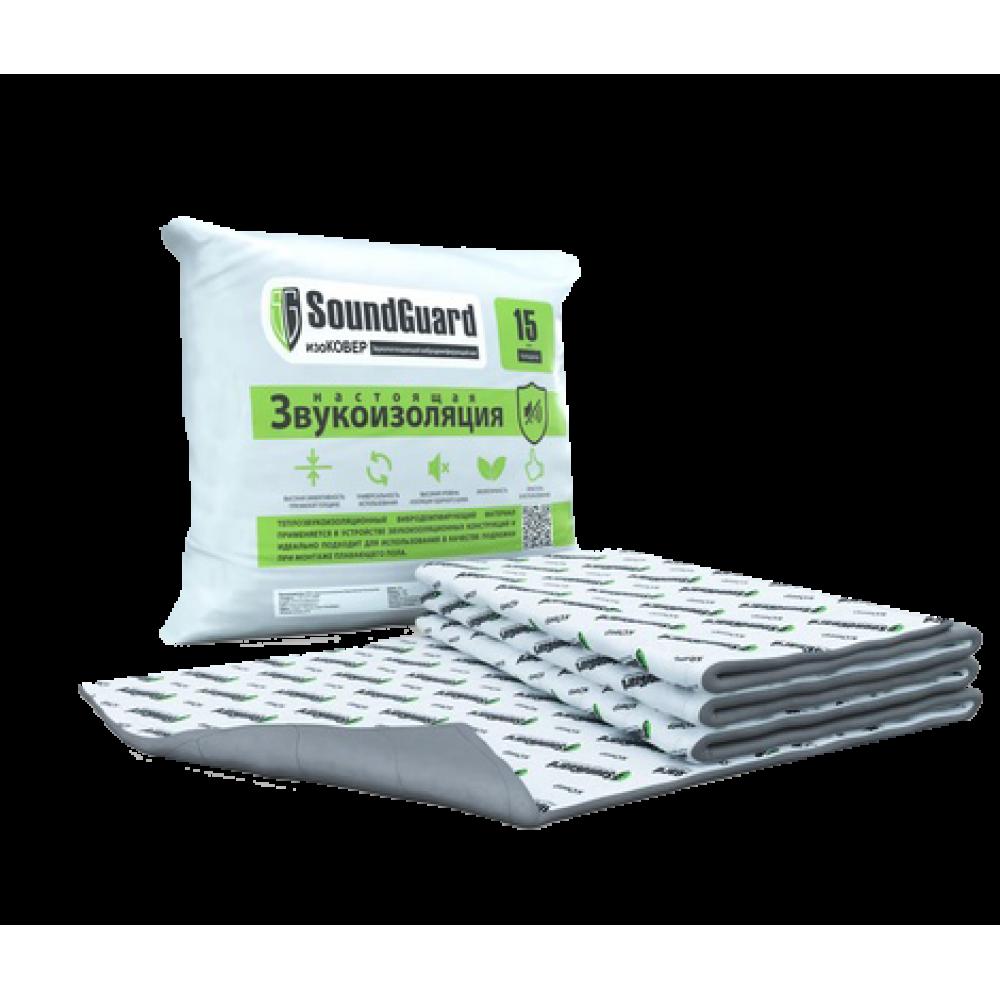 SoundGuard изоКОВЕР тепло-звукоизоляционный мат  (7.5 м²)