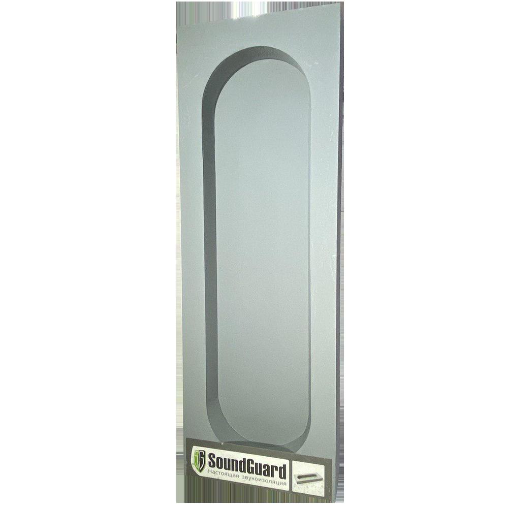 Звукоизоляционный подрозетник 4-секционный SoundGuard ИзоБокс5 Стандарт