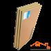 Standartish Block 15 звукоизоляционная панель (1200х600х15мм) 0,72м²