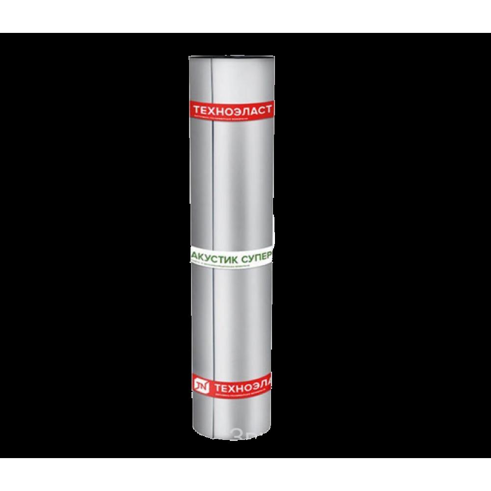 Техноэласт Акустик Супер А350 звуко-гидроизоляция (10 м²)
