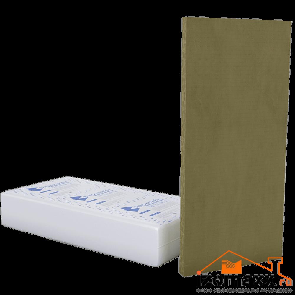 БасАкустик ЛП 50 вибро-звукопоглощающая плита 1250x610x50 мм (9,15м²) 12шт.