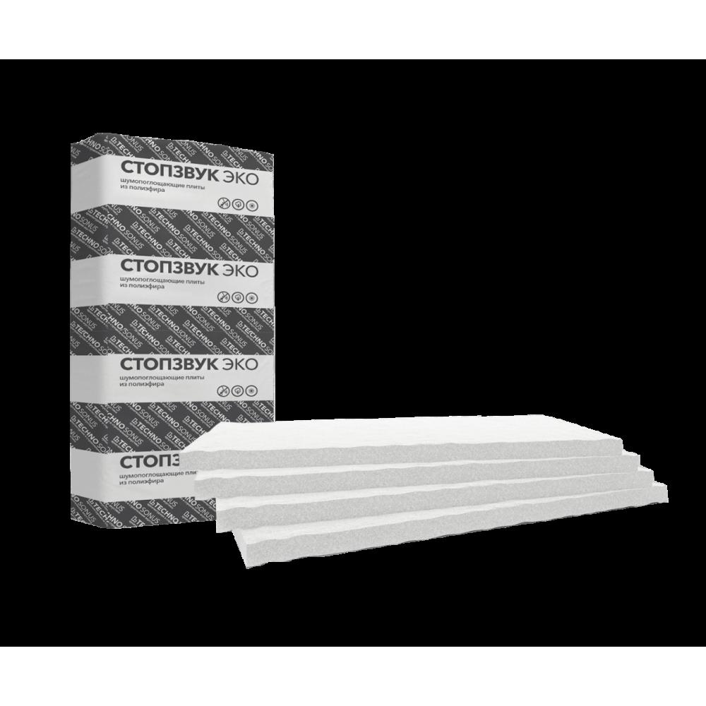 СтопЗвук Эко Слим плита шумопоглощающая (10,8 м²)