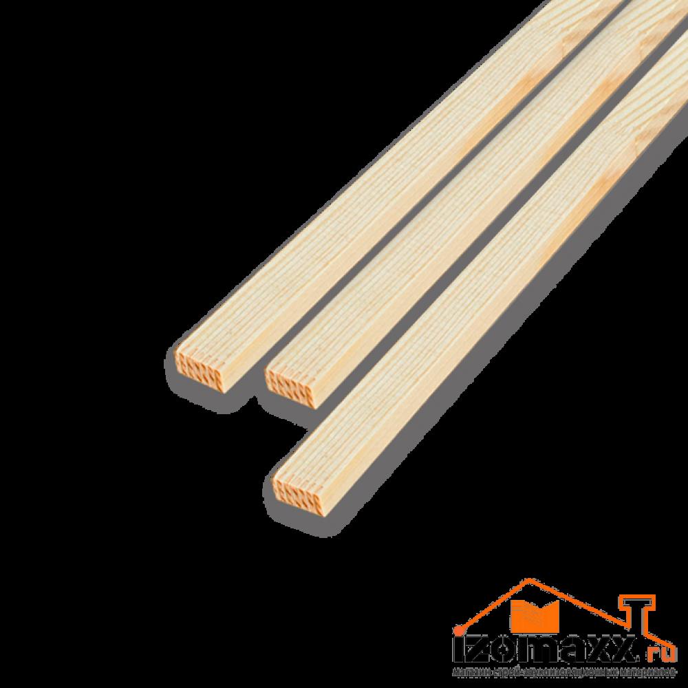 Рейка деревянная (1500х50х21мм)
