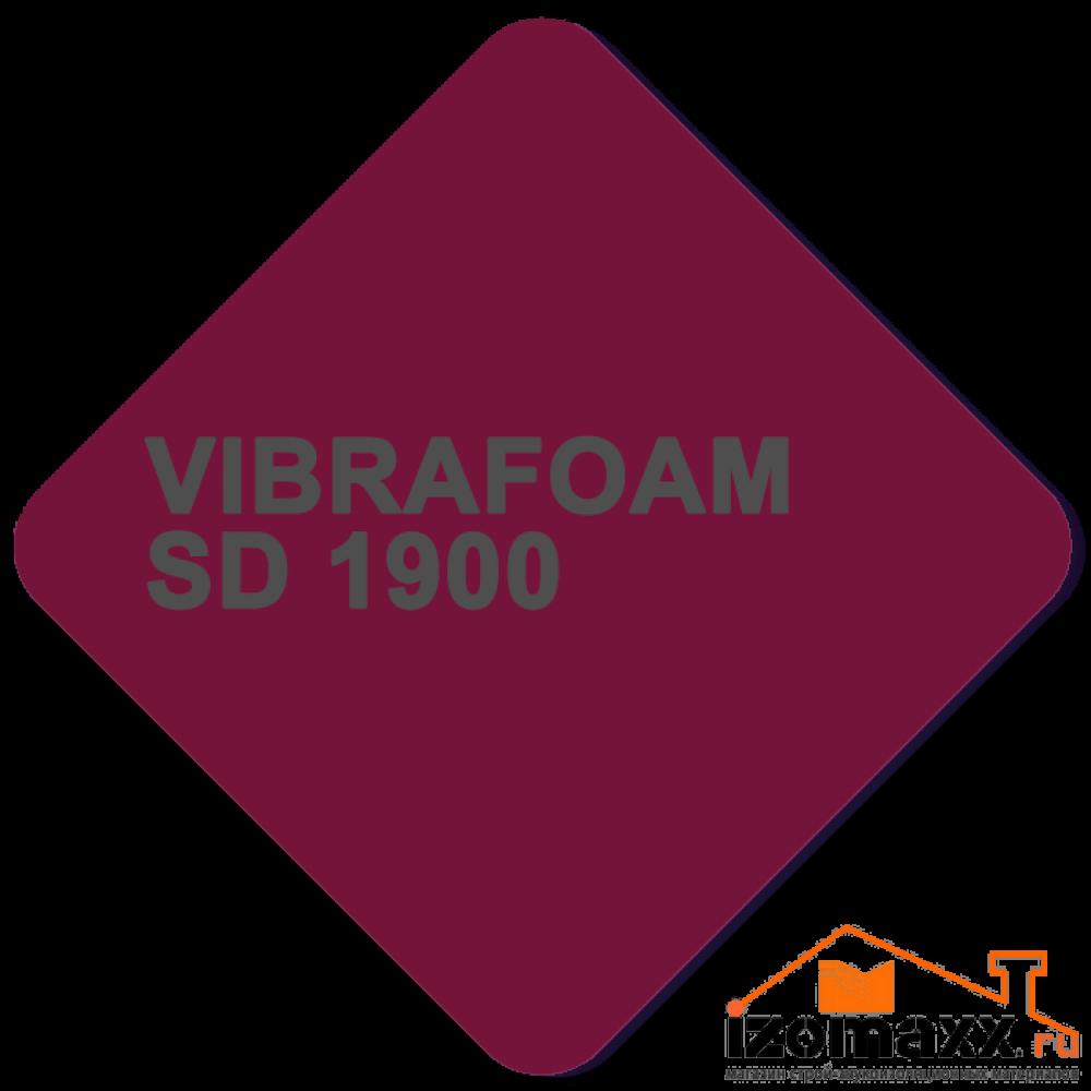 Vibrafoam SD 1900 (Бордовый) 2000x500x25 (1м²)